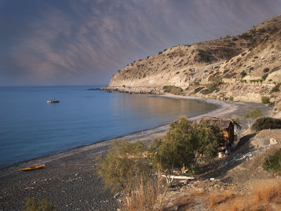 Morning at Myrtos beach